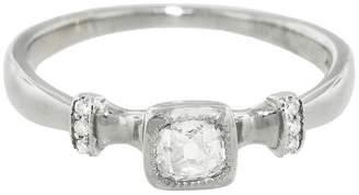 Lori McLean Old Mine Cut Diamond Ring