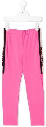 Gucci Kids side logo leggings