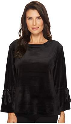Sanctuary Tierney Velour Popover Sweatshirt Women's Sweatshirt