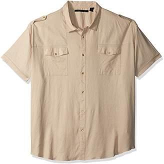 Sean John Men's Short Sleeve New Flight Shirt