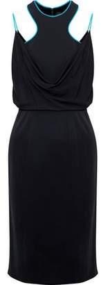 Versace Layered Stretch-Knit Dress