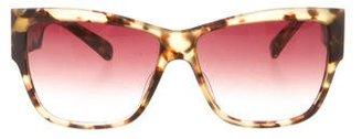 Paul Smith Square Gradient Sunglasses $70 thestylecure.com