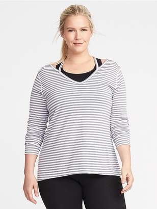 Old Navy Go-Dry Crossback Plus-Size Top
