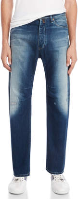 Armani Jeans Low-Rise Tapered Jeans