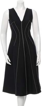 Derek Lam Wool & Silk-Blend Midi Dress w/ Tags