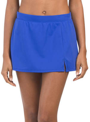 Slit Skirt Bikini Bottom
