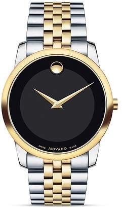 Movado Museum Classic Two-Tone Stainless Steel Watch, 40mm