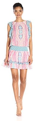 Juicy Couture Black Label Women's Sw Paulo Break Water Dress $298 thestylecure.com