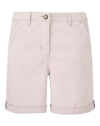 Fashion World Petite Comfort Stretch Chino Shorts