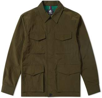 Paul Smith Micro Ripstop Military Jacket