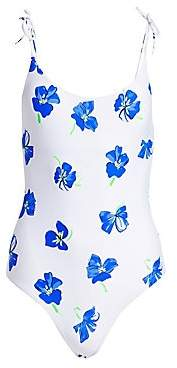 Onia Women's Ginny Floral One-Piece Swimsuit