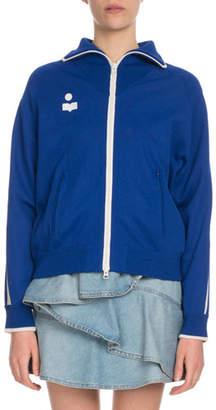 Etoile Isabel Marant Darcey Zip-Front Track Jacket