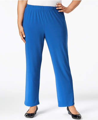 Alfred Dunner Plus Size Royal Street Pull-On Pants