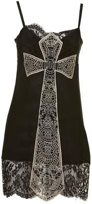 John Richmond Embroidered Cross Dress