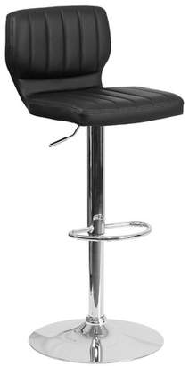Wade Logan Hellwig Adjustable Height Swivel Bar Stool