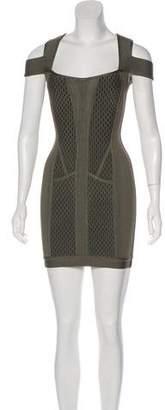 Herve Leger Evanne Bandage Dress