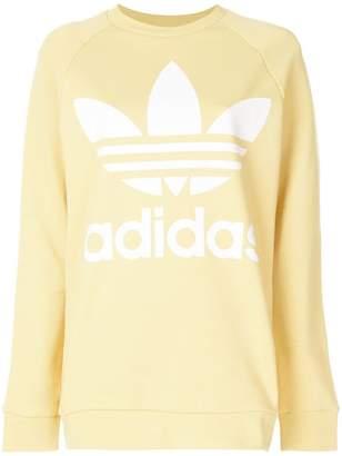 adidas oversized Trefoil sweatshirt