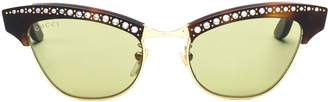 Gucci Crystal Embellished Sunglasses