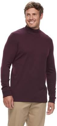 Croft & Barrow Big & Tall Classic-Fit Easy-Care Mockneck Pullover