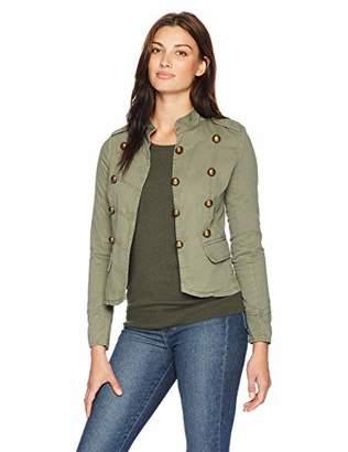 Jason Maxwell Womens Outerwear Military Anorak Jacket