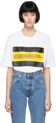Calvin Klein Jeans Est. 1978 White Est. 1978 Patch T-Shirt