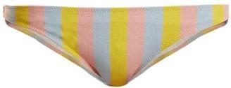 Solid & Striped The Rachel Striped Bikini Briefs - Womens - Multi Stripe