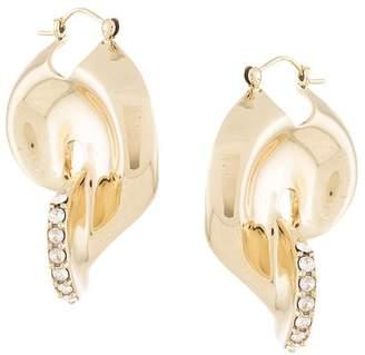 Ellery twisted hoop earrings