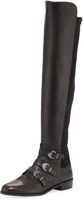 Stuart Weitzman Renegade Napa Leather Over-The-Knee Boot