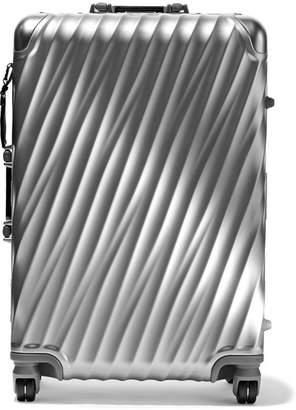 Tumi Short Trip Aluminum Suitcase - Silver