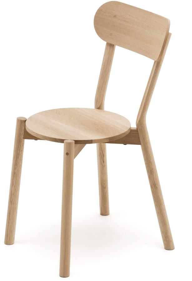 Karimoku New Standard - Castor Chair, Eiche Natur