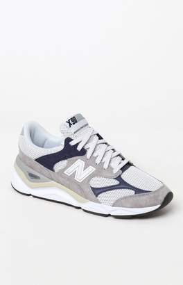 New Balance X-90 Re-Constructed Grey & Navy Shoes