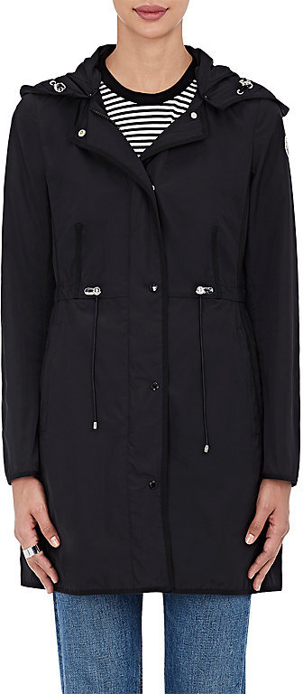 Moncler Moncler Women's Grosgrain-Trimmed Hooded Coat