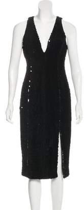 Jay Godfrey Sequined Midi Dress w/ Tags