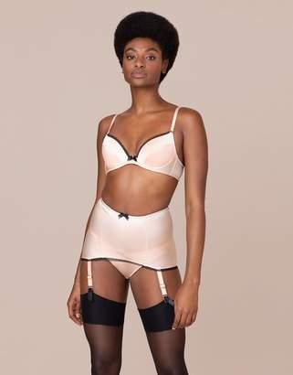 Agent Provocateur UK Felinda Fifties Style Suspender Nude And Black