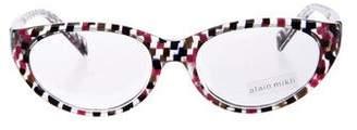 Cat Eye Alain Mikli Geometric Cat-Eye Eyeglasses