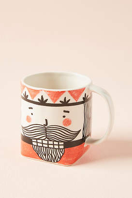 Krafty K Design Friendly Face Mug