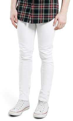 Men's Topman Stretch Skinny Fit Jeans $60 thestylecure.com