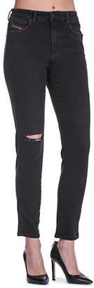 Diesel Babhila Low-Waist Skinny Jeans