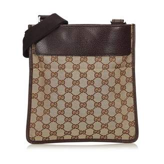 Gucci Vintage Guccissima Jacquard Crossbody Bag