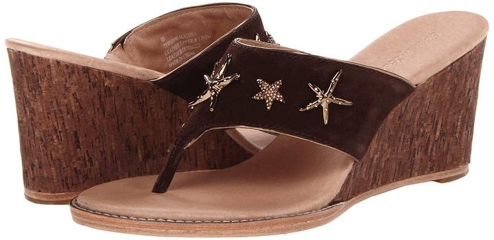 Tommy Bahama Madira (Dark Brown) - Footwear