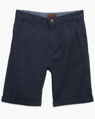 7 For All Mankind Boys 8-16 Classic Short in Navy