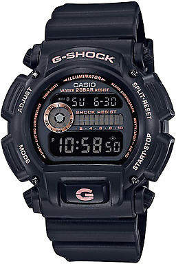 G-Shock New G Shock Women's Black And Gold Watch Resin Pu