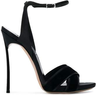 Casadei crossover strap sandals