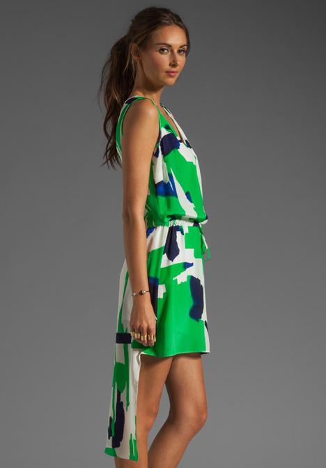 Akiko Asymmetric Hem Dress