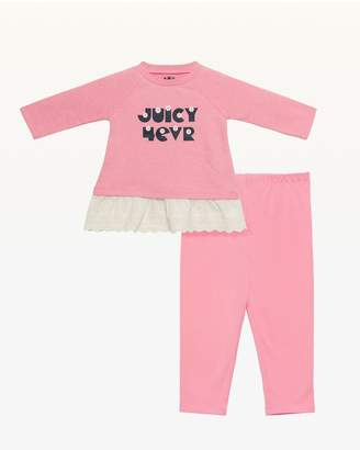 Juicy Couture Juicy 4ever Dress & Legging Set for Baby