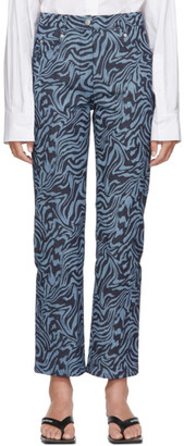 Miaou Blue Zebra Junior Jeans