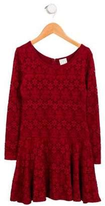 Ella Moss Girls' Lace A-Line Dress