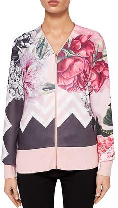 Ted Baker Pakrom Palace Gardens Zip Cardigan
