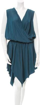 Lanvin Pleated Toga Dress w/ Tags