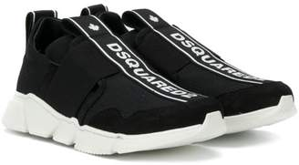 DSQUARED2 logo band sneakers